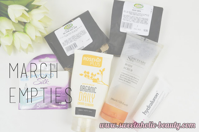 March Empties - Sweetaholic Beauty