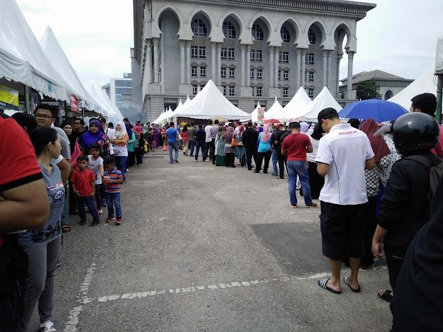 Pau Cendawan Bazaar Ramadan Putrajaya