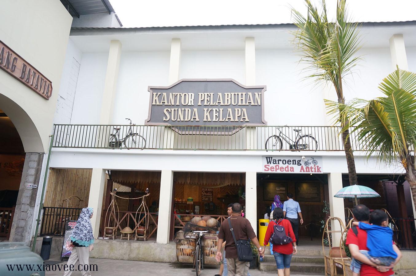 Zona Sunda Kelapa dan Batavia museum angkut