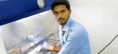 புதிய ஆன்டிபயாடிக்ஸ் மருந்து கண்டு பிடித்த வேலூர் விஐடி மாணவர் பிரசாந்த் மனோகருக்கு இளம் விஞ்ஞானி விருது