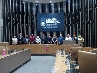 Solenidade de inauguração de reforma da Câmara de Guarabira encerra 2020