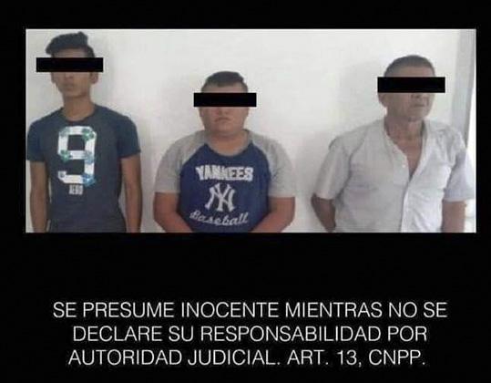 Capturan a tres presuntos criminales, confiscan arma de fuego y 6.5 kilos de marihuana