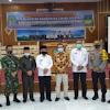 Wabup Ami Taher Sambut Kunjungan dan Silaturahmi Pemkab Solok Selatan