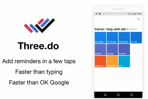 Three.do - Εύκολες υπενθυμίσεις στο smartphone με τρεις κινήσεις