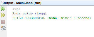 contoh program if else if java