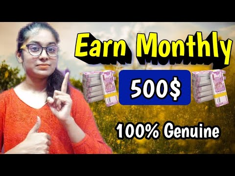 Earn Monthly 500$ Full Time Work Genuine Website 2020 Paypal Earning