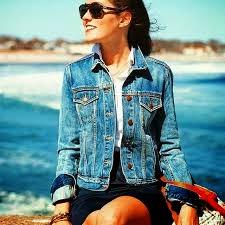 jaket jeans wanita murah