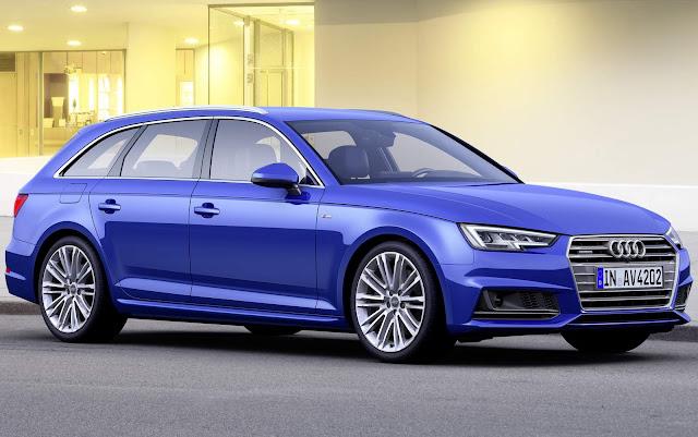 novo Audi S4 Avant 2017