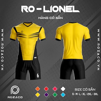 Áo Không Logo Rozaco RO-LIONEL Màu Vàng