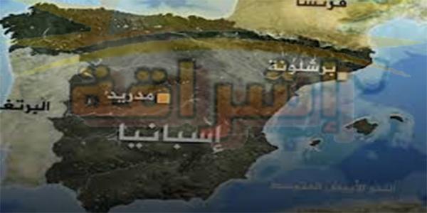 خريطة فتح الاندلس