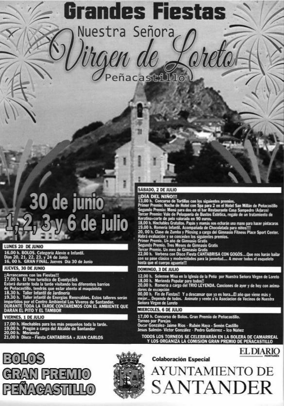 Grandes Fiestas de Nuestra Señora de Loreto en Peñacastillo