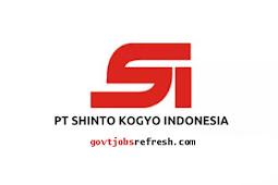 Lowongan Kerja Terbaru PT. Shinto Kogyo Indonesia Cibitung Karawang 2019