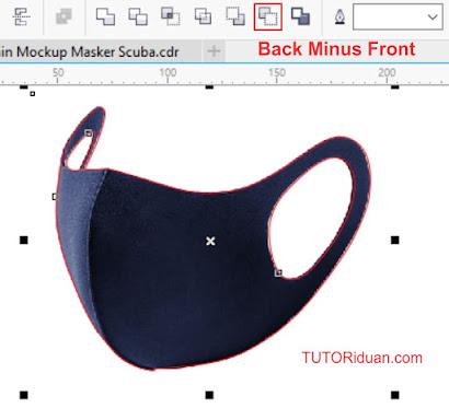 Membuat Mockup Masker Scuba
