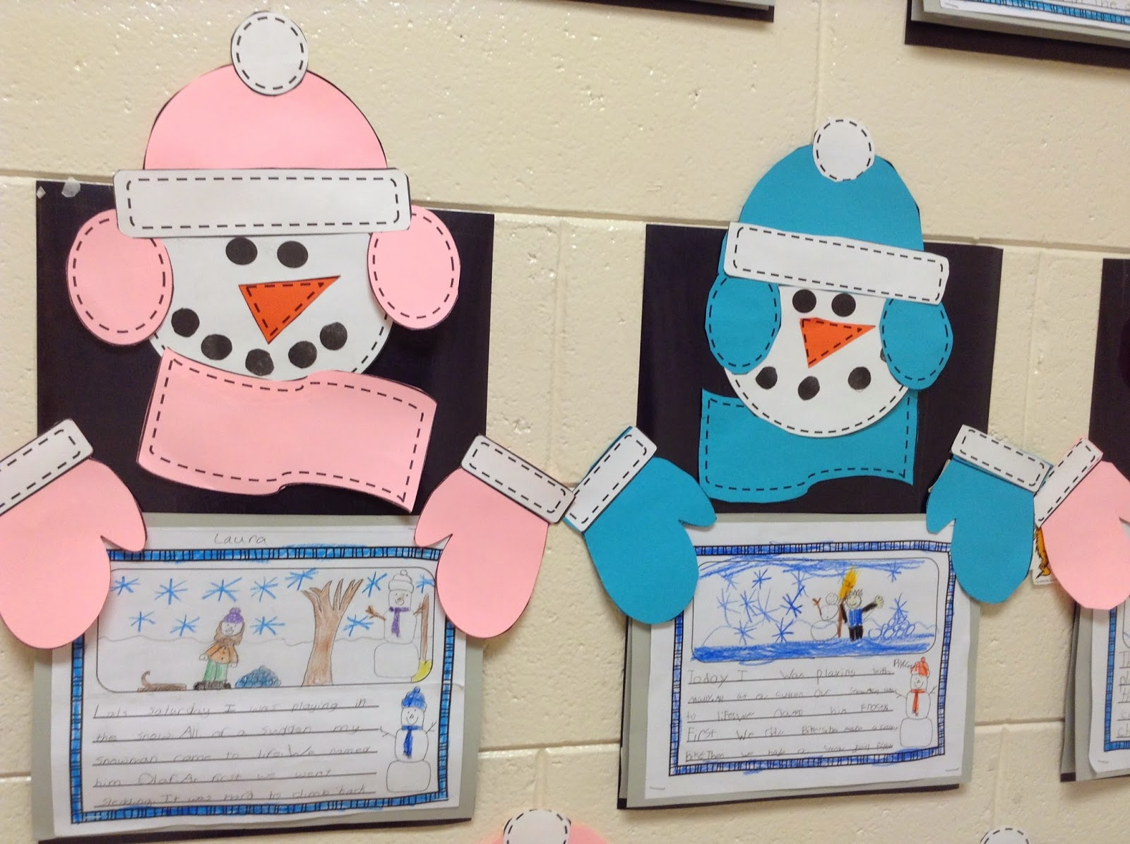 Super Second Grade Smarties Winter Writing And Snowman Craft And Free Books Online