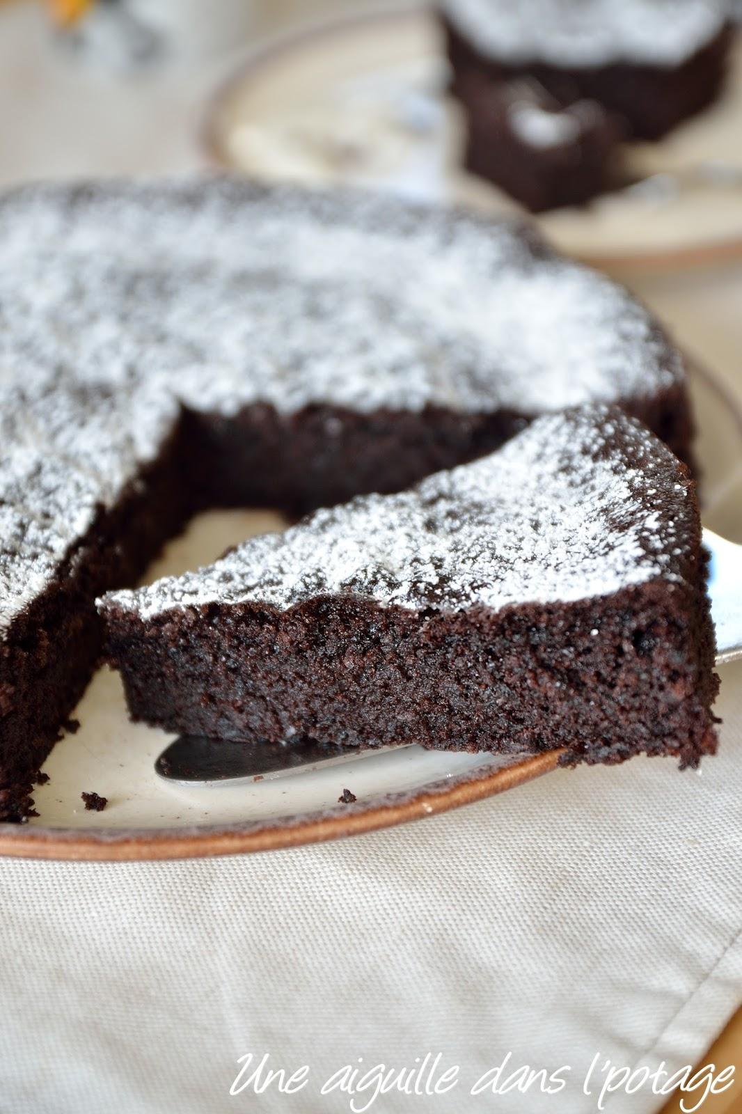 Gateau au chocolat sans farine de nigella