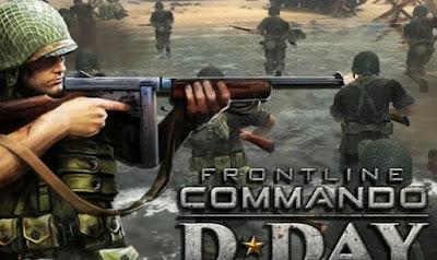 تحميل لعبة القتال الممتعة FRONTLINE COMMANDO : D-DAY مهكرة