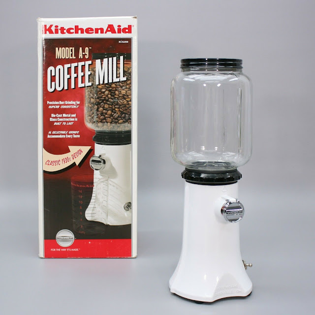 KitchenAid A-9 Coffee Mill/Grinder (KCG200WH) - White