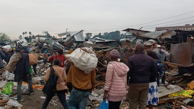 Gikomba market traders crying photos