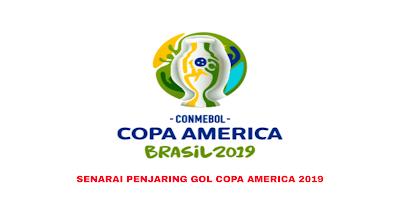 Senarai Penjaring Terbanyak Copa America 2019