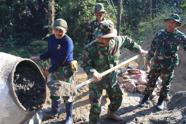 Tergabung Satgas TMMD Suatu Kebangaan bagi Setiap Prajurit TNI