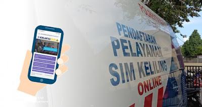Ini Cara Perpanjang SIM Online Lewat Smartphone