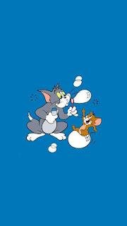 Tom ve Jerry Telefon Duvar Kağıtları 24