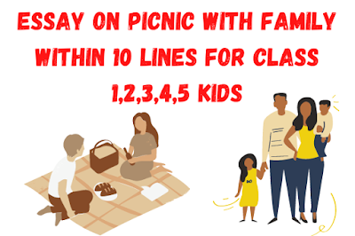 Essay on Picnic with Family