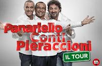 Logo Vinci gratis i biglietti di Panariello, Conti e Pieraccioni in Tour