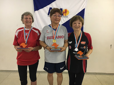 Mesatenista conquista medalha de prata para Registro-SP nos Jogos Abertos do Idoso