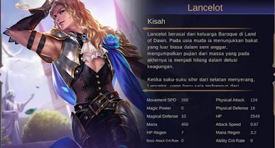 Savage Build Lancelot Tersakit 2020 Jess No Limit