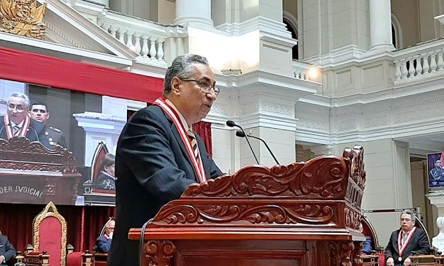 José Luis Lecaros, presidente del Poder Judicial