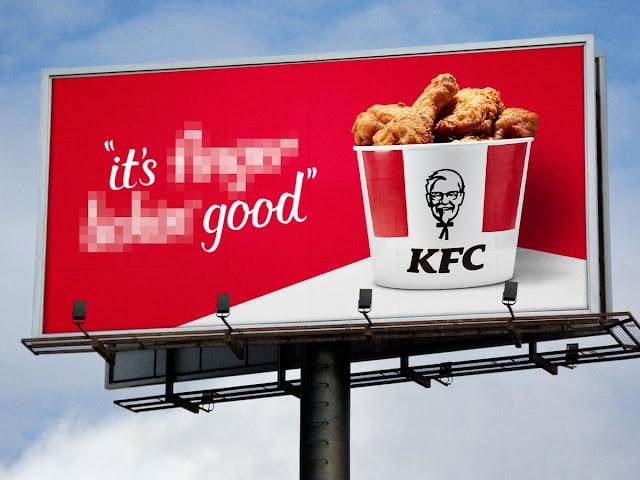 KFC Hentikan Seketika Slogan 'Finger Lickin' Good' Kerana COVID-19