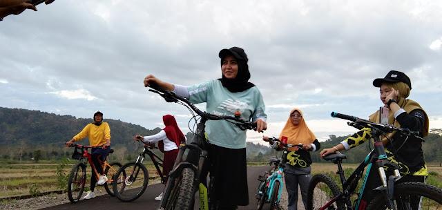 Jalannya Mulus, Komunitas Sepeda Bosst Community Ucapkan Terima Kasih ke Bupati