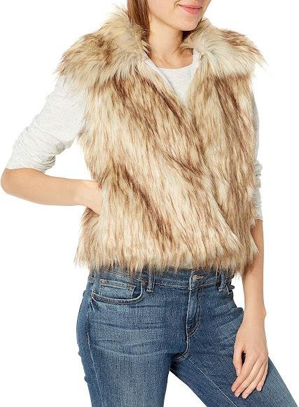 Best Women's Faux Fur Vest