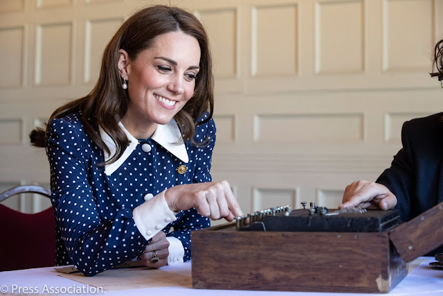 Księżna Kate w Bletchley Park + więcej