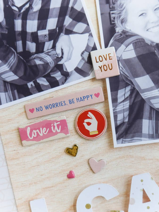 I Can't Even Scrapbook Layout by Jamie Pate | @jamiepate