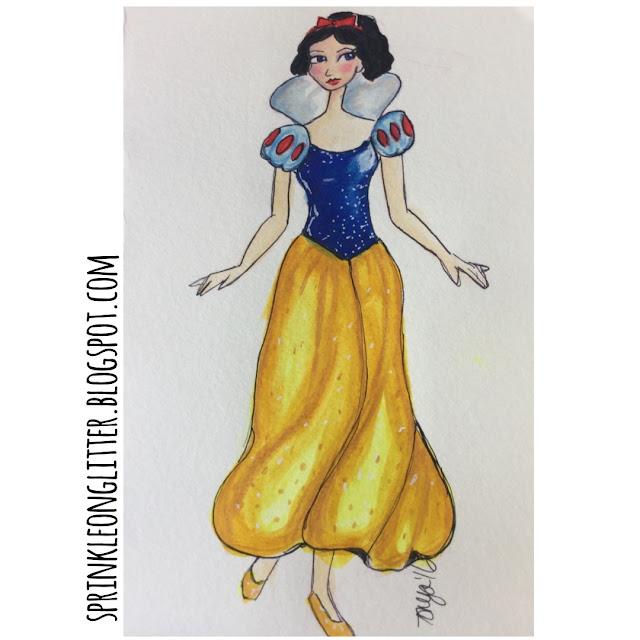 Sprinkle On Glitter Blog// Disney Princess//Snow White