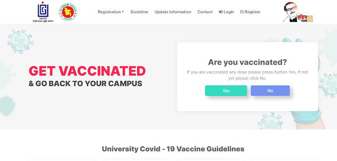University Students Vaccine Registration - univac.pntdns.com