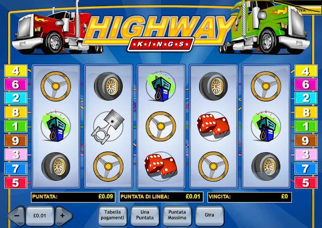 Simbol slot Highway Kings