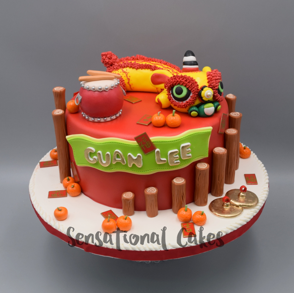 CNY Customized Theme 3D Cakes Singapore CNY CNY2018