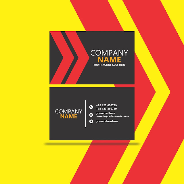 Company Business Card Design Free Download
