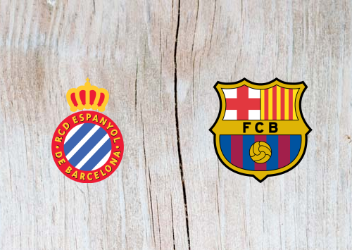 Espanyol vs Barcelona Full Match & Highlights 08 December 2018