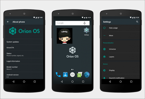 Rom Orion OS 2.7 Andromax A