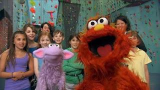 Murray and Ovejita, In the Murray Has a Little Lamb segment, Murray and Ovejita visit the rock climbing school. Sesame Street Episode 4414 The Wild Brunch season 44