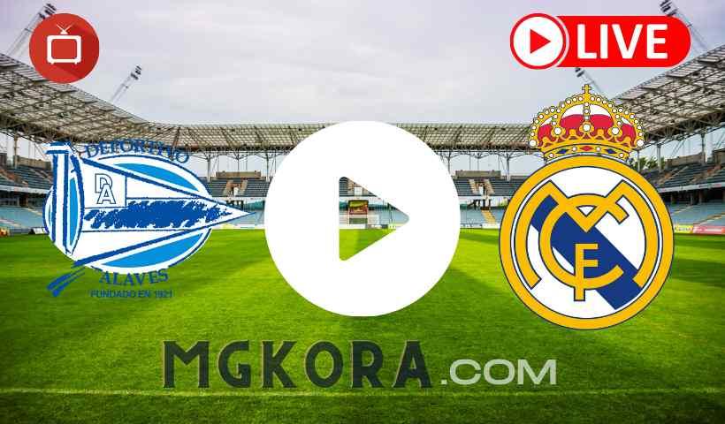بث مباشر مباراة ريال مدريد ضد ألافيس اليوم 14-8-2021 في الدوري الإسباني