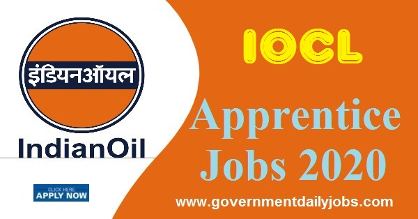 IOCL Southern Region Trade Apprentice Notification 2020