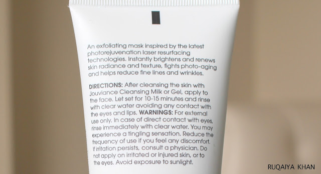 JOUVIANCE Glyco | Laser 5 Review - Best At home Facial Peel Mask