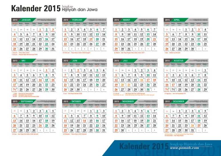 Kalender Jawa 2015 Lengkap Pdf