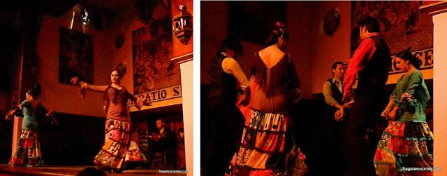 Apresentação de Flamenco em Sevilha, Andaluzia