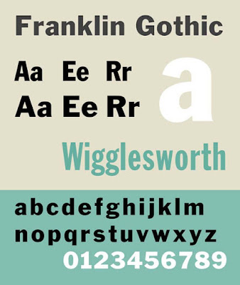 Franklin Gothic CV font